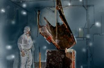 焼却炉解体のイメージ