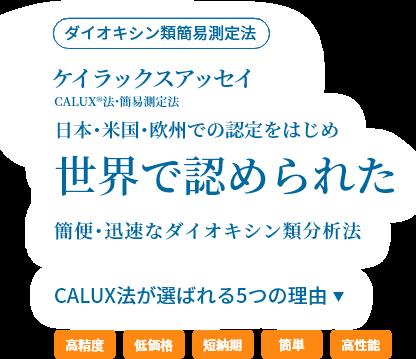 ケイラックス®アッセイ(ダイオキシン類簡易測定法)
