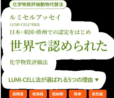 ルミセル®アッセイ(化学物質評価動物代替法)